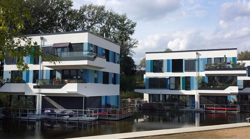 hamburg auskenner fahrradtouren hamburg wilhelmsburg IBA Waterhouses stadtführung per fahrrad