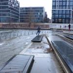 Sturmflut in der Hafencity