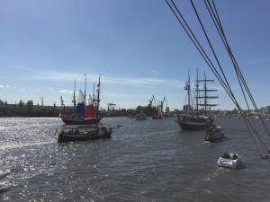 Auslaufparade Hafengeburtstag 2015 Hamburg Auskenner