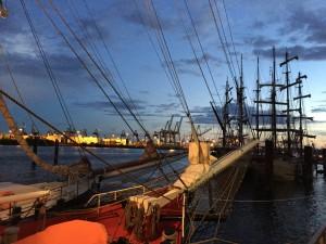 Hafengeburtstag 2015 Segelschiff Abend Fischmarkt Hamburg Auskenner Hamburg Radtour Containerhafen