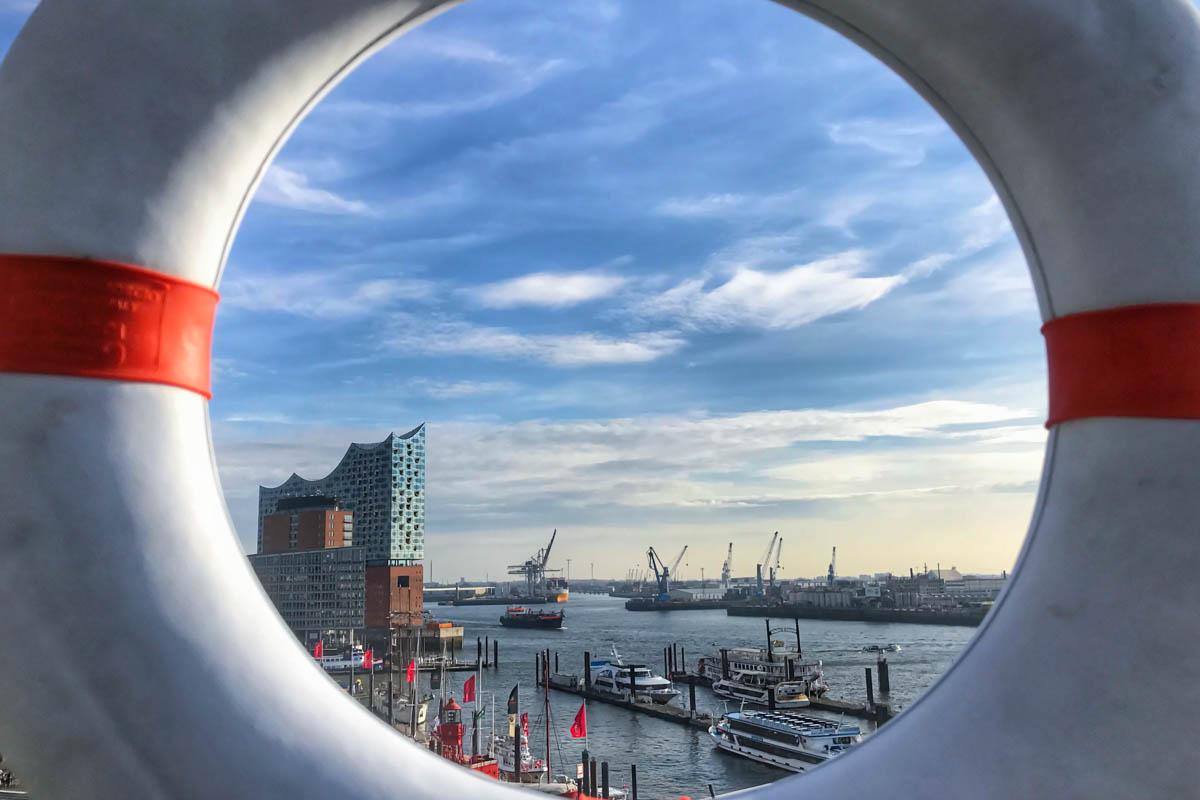 Elbphilharmonie Hamburg in der Hafencity