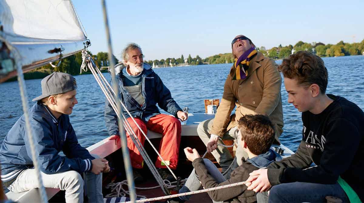 hamburg auskenner, fahrradtour bike und sail hamburg, segeln alster